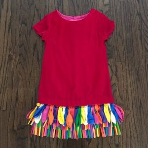 NWT Charabia Red Balloon Party Dress